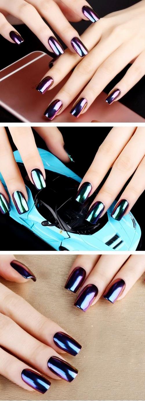 ВТИРКА для ногтей: 25 ФОТО как наносить и использовать